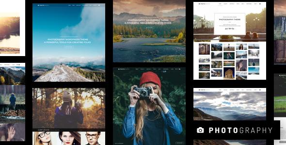 Photography 响应式摄影WordPress主题