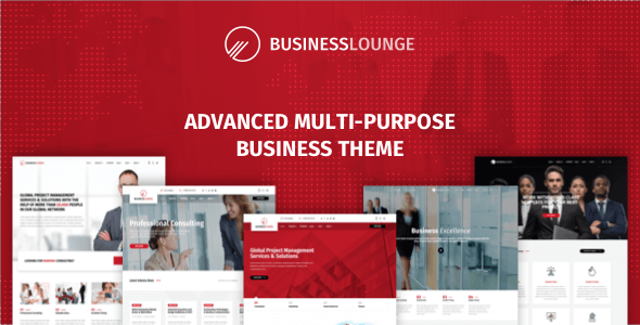 Business Lounge 多用途商业WordPress主题