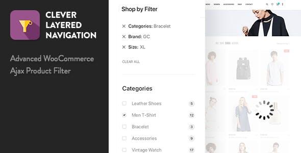 Clever Layered Navigation WooCommerce Ajax产品过滤器