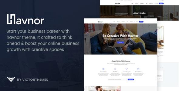 Havnor - 企业响应多用途WordPress主题