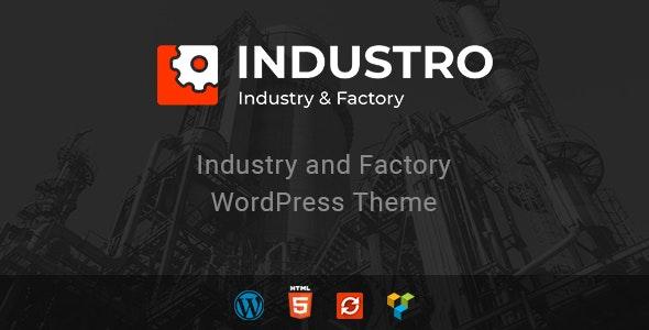Industro - 工业&工厂WordPress主题