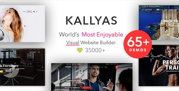 kallyas响应式多用途WordPress主题