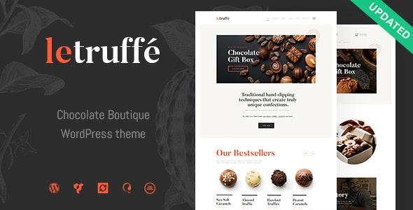 Le Truffe - 巧克力精品WordPress主题