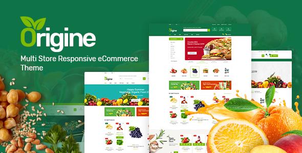 Origine - 有机食品WooCommerce主题