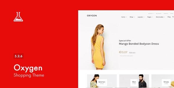 Oxygen 购物商城WooCommerce主题