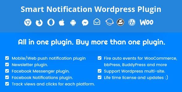 Smart Notification站内通知Wordpress插件