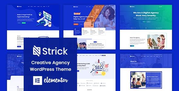 Strick - 创意机构WordPress主题
