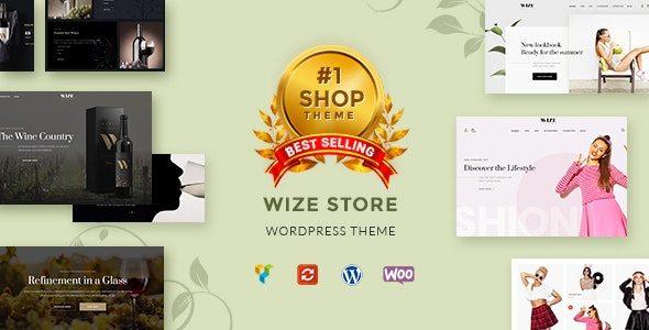 WizeStore - 多功能商城WordPress主题
