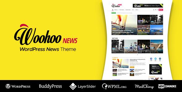 Woohoo - 新闻和杂志多概念Wordpress主题