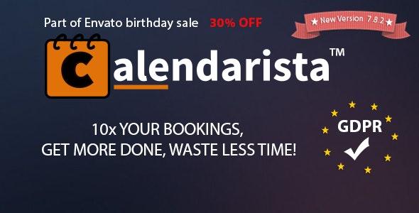 Calendarista Premium - 预订和日程安排WordPress插件