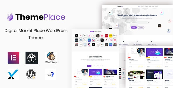 ThemePlace数字市场WordPress主题