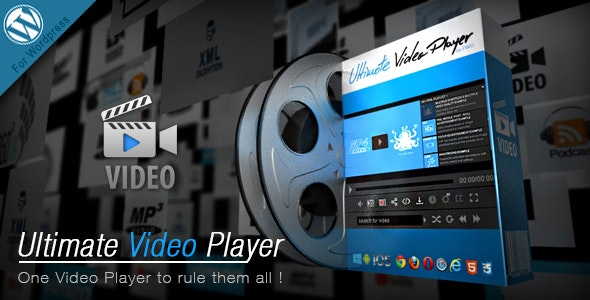 Ultimate Video Player v7.1 - 终极视频播放器Wordpress插件