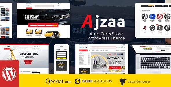 Ajzaa - 汽车配件商店WordPress主题