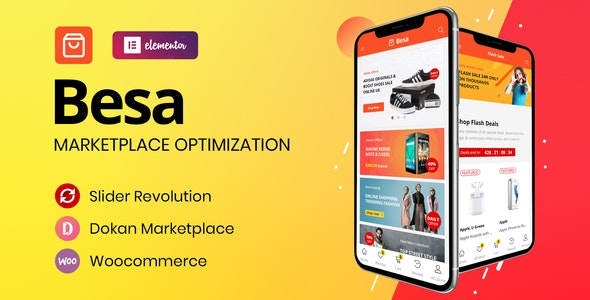 Besa v1.0.3 - 市场WooCommerce 商店