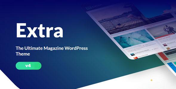 Extra - 终极博客杂志WordPress主题