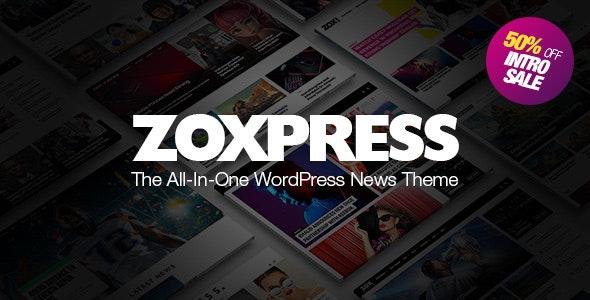 ZoxPress - 新闻自媒体WordPress主题