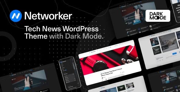 Networker v1.0.3 - 技术新闻WordPress主题