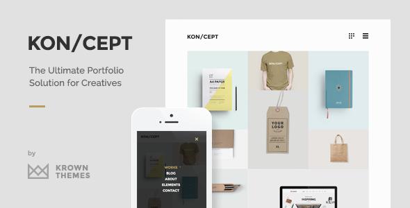 KON/CEPT 创意作品展示主题