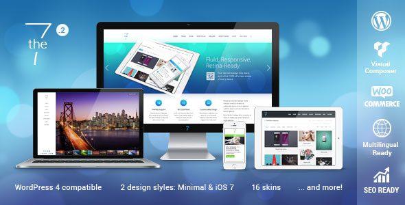 The7多用途企业WordPress主题