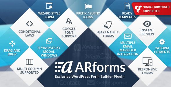ARForms表单生成器插件