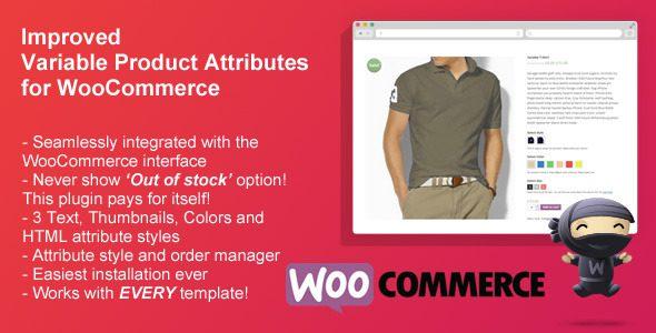 WooCommerce自定义属性插件