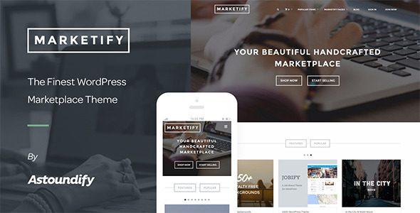 Marketify数字交易市场WordPress主题