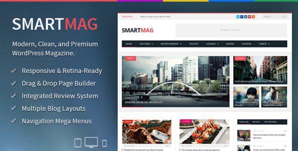 Smartmag新闻博客杂志主题汉化版