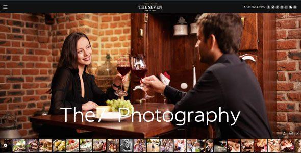 The7创意摄影展示多用途主题