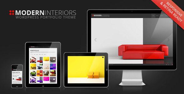 Modern Interior 全屏创意摄影主题