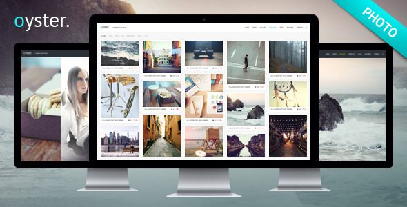 Oyster 创意摄影 WordPress主题