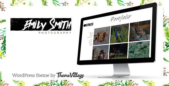 Emily 摄影画廊WordPress主题深度汉化版