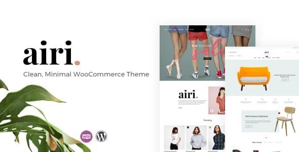 Airi简约WooCommerce电商模板