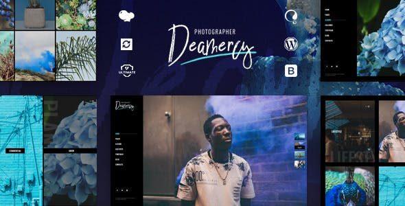 Deamercy创意摄影师 WordPress 主题模板