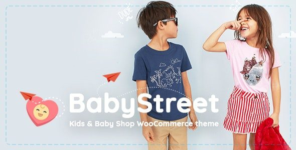BabyStreet - 儿童商店WordPress主题