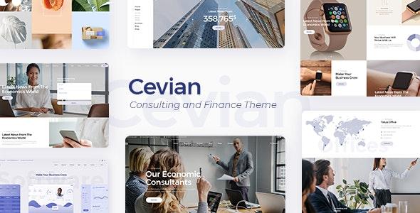 Cevian - 高端创意企业集团WordPress汉化主题