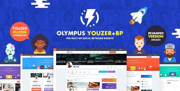 Olympus v2.6 - 高级社交WordPress主题