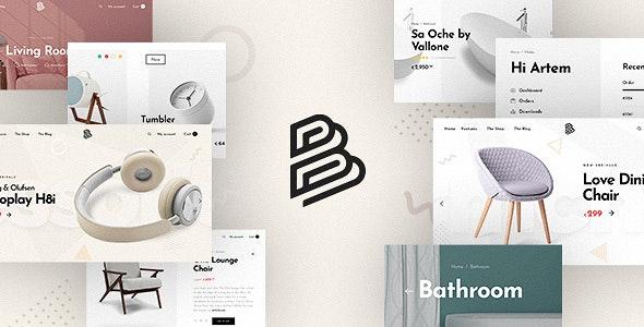 Barberry - 现代WooCommerce购物商场WordPress主题