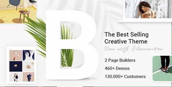 Bridge v20.4 创意设计多用途WordPress主题