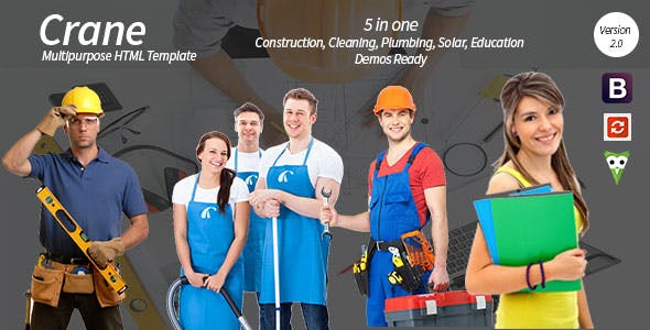 简约时尚保洁家政企业网站DedeCMS模板