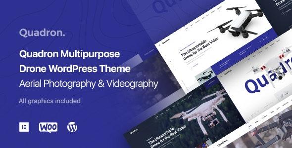 Quadron - 航拍无人机单品商店WordPress主题模板