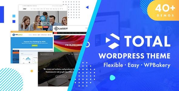 Total - 响应式多用途WordPress主题