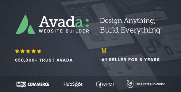 Avada – 多用途企业展示 WordPress主题